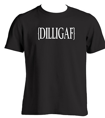 DILLIGAF mens funny t shirt Gift ideas for men adult t shirts with attitude