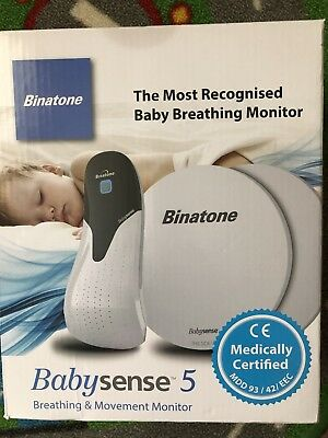 binatone babysense 5 Breathing & Movement Monitor- Never Used