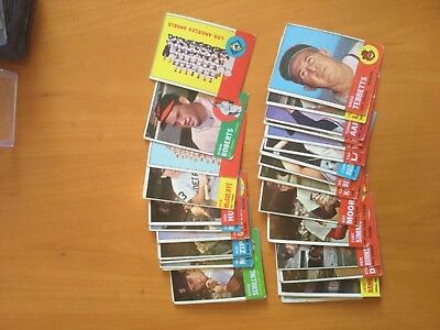 1963 Topps Baseball Cards Lot of 36 different lower grade with Stars