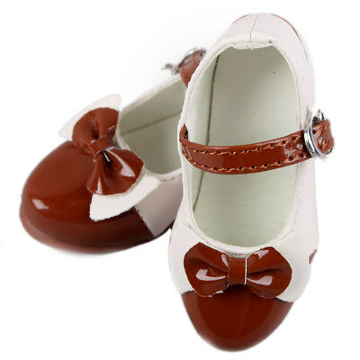 [wamami] 1/3 Brown Lace Bow Fairlady High Heel Shoes For Sd Bjd Dollfie