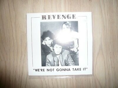 Revenge - We're not gonna take it Vinyl single 7''