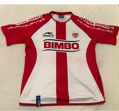 Mexican Football Shirt NECAXA Jersey 2003 SEASON Rare