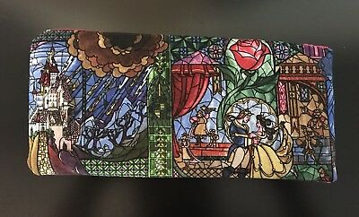 Disney's Beauty and The Beast handmade Wallet