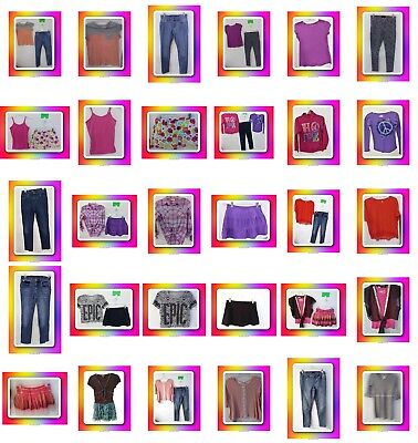 Girls Size 14/16 Clothes, Jeans, Tops, Skirts, Clothing, Huge School Lot Justice