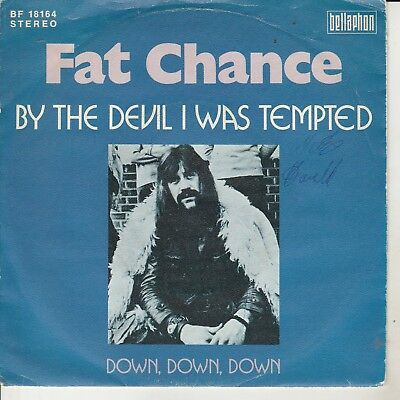"FAT CHANCE - Single ""By the devil I was tempted"""