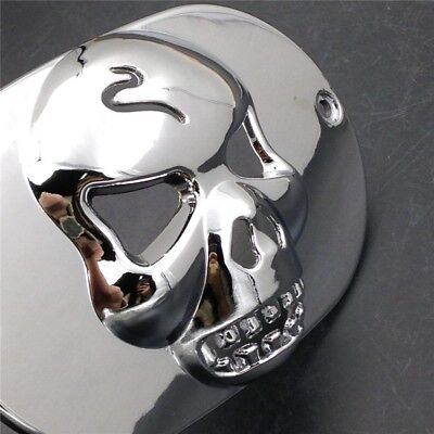Skull Tail Light Collar Mask Cover For Harley Touring Softail XL Road King Dyna