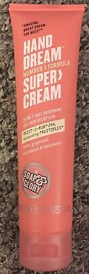 Soap And Glory Hand Dream Super Cream 5in1 Fast Absorbing Dry Skin Relief  100ml