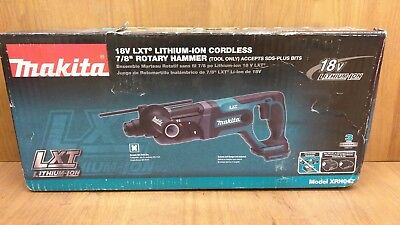 MAKITA 18v LXT  7/8'' SDS-Plus Rotary Hammer Drill XRH04Z (Tool Only)
