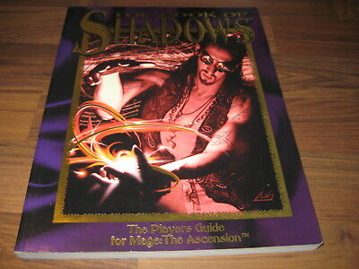 Mage The Ascension The Book of Shadows Mage Players Guide White Wolf 1993 WW4050