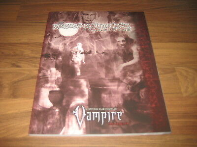 Vampire The Requiem The Resurrectionists Collection SC 2011 White Wolf WW 25033