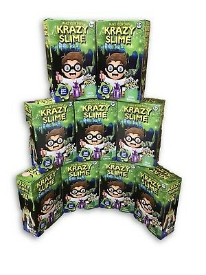 DIY SLIME KIT SUPPLIES Gift Do It Yourself Make Your Own Slime Glow Many Colors