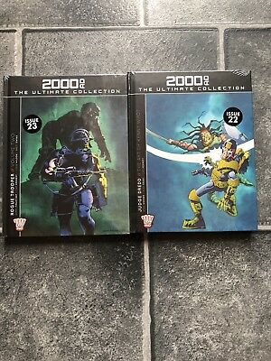 2000AD -THE ULTIMATE COLLECTION - Brand new Issues # 23 & # 22