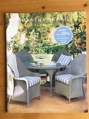 Martha By Mail Catalog Spring 2001