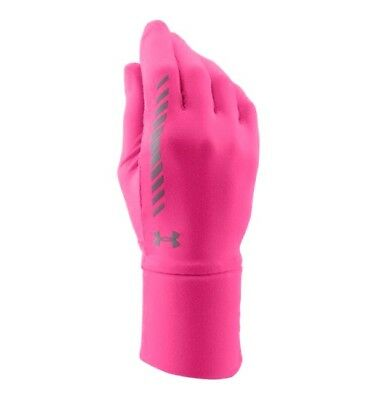 Under Armour Women's Layered Up Liner Glove - Size Large/XLarge - Pink - New!