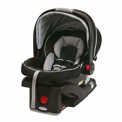 Graco SnugRide Click Connect 35 Infant Baby Safety Car Seat with Base Gotham