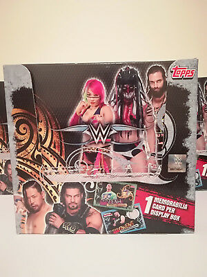 WWE Slam Attax Live Trading Cards Gold Limited Edition Packets Box 36 Packs New