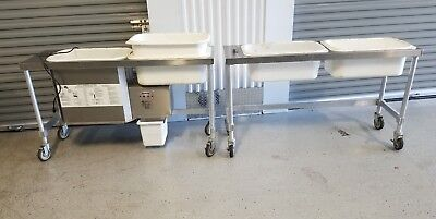 AYRKING Breading Station + Extras BBS Batter Breader/Sifter/Blender
