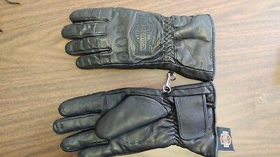Harley Davidson Riding Gloves Leather Women's Small S