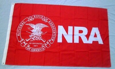NRA Flag 3x5 Flag Banner Gun Rifle Shooting Flag 73