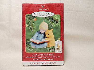 Hallmark 2000 STORY TIME WITH POOH Christopher Robin Too SERIES #2 Ornament