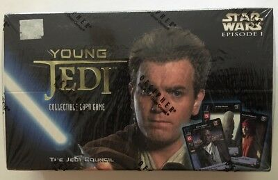 Star Wars Young Jedi CCG, The Jedi Council, Sealed Booster Box, Decipher