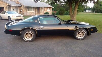 1979 Pontiac Trans Am SE 1979 BLACK AND GOLD BANDIT TRANS AM SE (Fresh Restoration)