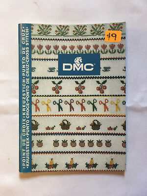 DMC Cross Stitch. Emboidery instruction and pattern book. New