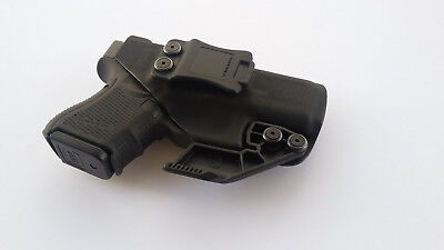 Appendix Carry Custom Kydex Holster with Raven Concealment RCS Claw IWB AIWB