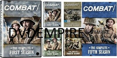 Combat The Complete DVD Series Seasons 1,2,3,4,5 New Sealed All Regions AUS