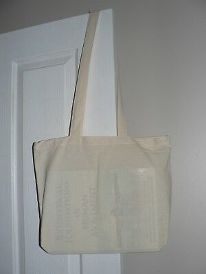 Calico bags with Long handle (H 31 cm x  W 40 cm ) Tote Bag