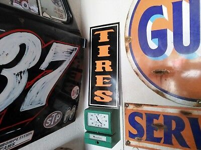 Antique Vintage look Old Style TIRES Sign