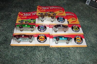 Hot Wheels 2018 50th Anniversary Redline Complete Set of 5 w/ 67 CAMARO