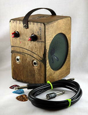 Cigar Box Amp - Distortion Pedal - Great for Electric CBG Guitar