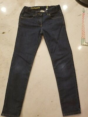 Youth Girls Crewcuts By J Crew Skinny Toothpick Jeans. Size 8. Adjustable...