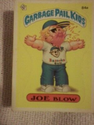 REVISED! GPK OS 3 4 6 7 8 Garbage Pail Kids Original Series cards incomplete lot