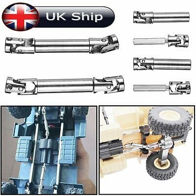 2pcs Metal Driving Shaft Axle Upgrade Parts For WPL 1/16 1/24 Military Truck RC