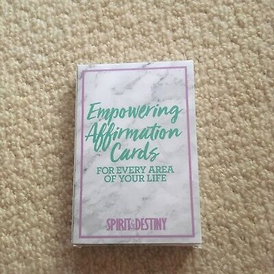Empowering Affirmation Cards New and Sealed