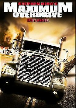 Maximum Overdrive DVD Stephen King New and Sealed Australia All Regions