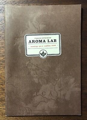 RARE Starbucks Coffee Master Tasting Aroma Lab Booklet Black Apron Collectible