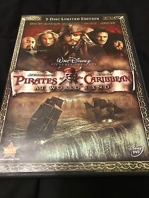 Pirates of the Caribbean: At World's End [2-Disc Special Edition DVD] Very Good