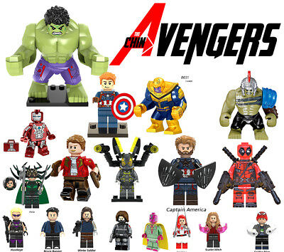Avengers Lego Minifiguren Marvel Minifigures Super Heroes Iron Man Mini Figures