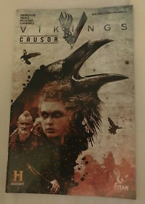 History Channel Vikings Causor Comic Book - SDCC Comic-Con 2018 Exclusive