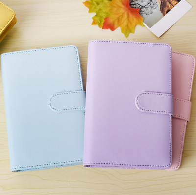 A5 A6 classic Loose-Leaf-Ring-Binder-Notebook  Planner Weekly Monthly Diary
