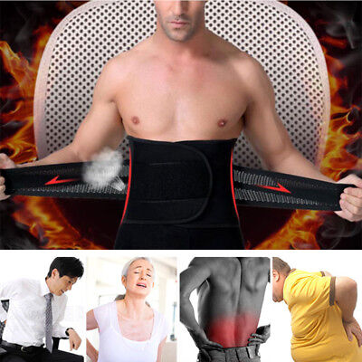 Magnetic Heat Waist Belt Brace For Pain Relief Lower Back Therapy Support New