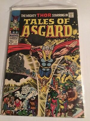 Mighty Thor Tales of Asgard #1 Stan Lee Jack Kirby Silver Age 1968