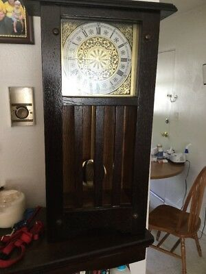 Miniature Grandfather Clock 2 Ft By Approx 1 Ft