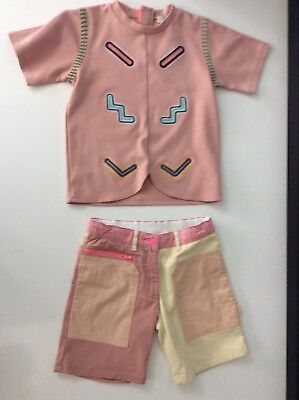 Stella Mccartney Kids Girls Outfit Set Shorts & Top Size Age 8 Years