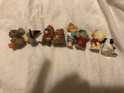 Hallmark Merry Miniatures lot 1983-1992 Christmas Easter Thanksgiving MM