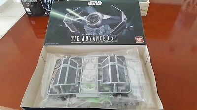 Star Wars Darth Vaders Tie Advanced X 1, 1:72, Bandai 191407 neu 2017