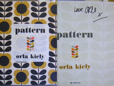 Rare Signed Book Pattern by Orla Kiely Hardback 2017 First Edition 9781840917628